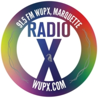 Logo of radio station WUPX Radio X