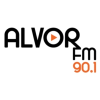 Logo of radio station Alvor FM