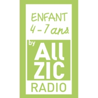 Logo of radio station Allzic Radio ENFANTS 4/7 ANS