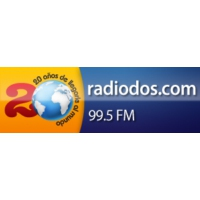 Logo of radio station Radio Dos 99.5 FM