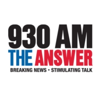 Logo of radio station KLUP 930 AM The ANSWER