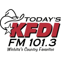 Logo of radio station KFDI