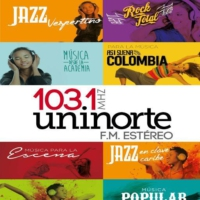 Logo of radio station Emisora Uninorte FM