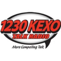 Logo of radio station KEXO 1230
