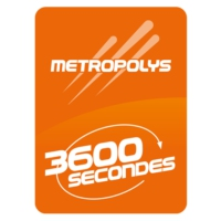 Logo de la radio Metropolys 3600 Secondes