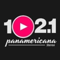 Logo of radio station 102.1 Panamericana