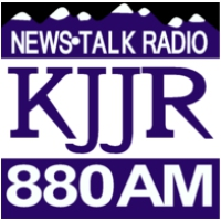 Logo of radio station KJJR 880 FM