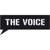 Logo of radio station The Voice 105.9 FM