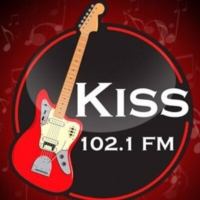 Logo of radio station Rádio Kiss FM - 102.1