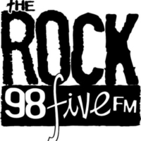 Logo of radio station The Rock 98five FM
