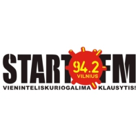 Logo of radio station Start FM