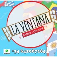 Logo of radio station La Ventana Radio