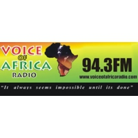 Logo of radio station Voice of Africa Radio