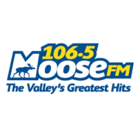Logo of radio station 106.5 Moose FM