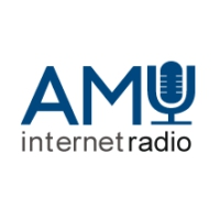 Logo of radio station AMU Radio