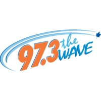Logo of radio station 97.3 The Wave