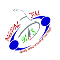 Logo of radio station Nepal FM 91.8