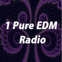 Logo of radio station 1 Pure EDM Radio