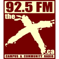 Logo of radio station CFBX (The X)