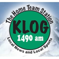 Logo of radio station KLOG 1490 AM