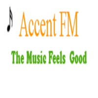 Logo of radio station Accent FM Belgium