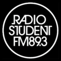 Logo of radio station Radio Student Univ. of Ljubljana