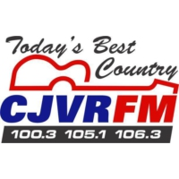 Logo of radio station 105 CJVR