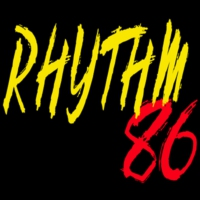 Logo of radio station Rhythm 86