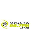 Logo of radio station Revolution 96.7