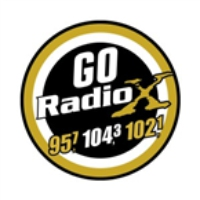 Logo of radio station Go Radio X