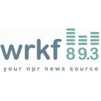 Logo of radio station WRKF NPR 89.3 FM