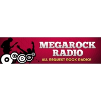 Logo of radio station Megarock Radio