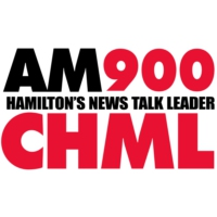 Logo of radio station AM900 CHML