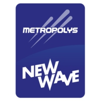 Logo of radio station Metropolys New Wave