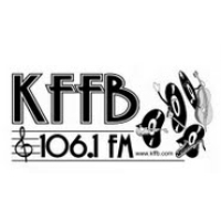 Logo of radio station KFFB 106.1 FM