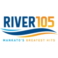 Logo of radio station KRBI The River 105.5