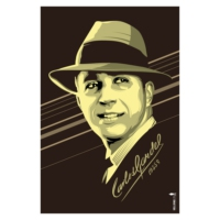 Logo of radio station Miled Music Carlos Gardel