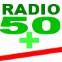 Logo of radio station 50+