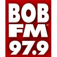 Logo of radio station WBBE  97.9 BOB FM
