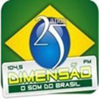 Logo de la radio Dimensao FM
