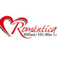Logo of radio station XHPNA Romántica 101.9 FM