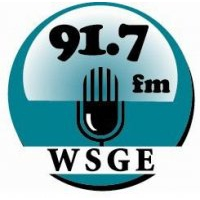 Logo of radio station WSGE Gaston College