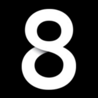 Logo de la radio 8Radio.com
