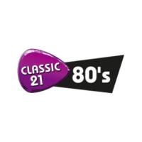 Logo of radio station Classic 21 80's