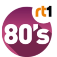 Logo of radio station RT1 80's