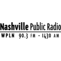 Logo of radio station WPLN Nashville AM NPR 1430