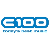 Logo of radio station C100 FM