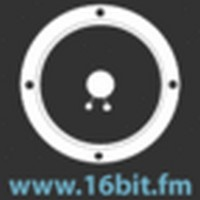 Logo of radio station 16Bit.fm