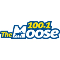 Logo of radio station 100.1 Moose FM