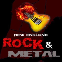Logo of radio station New England Rock and Metal